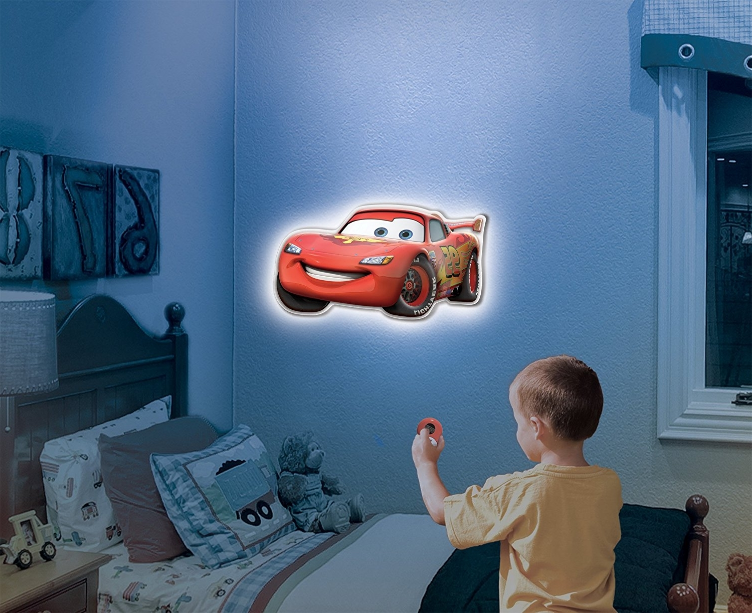 Amazon: Uncle Milton – Wall Friends – Lightning Mcqueen: Toys With Most Recently Released Cars 3D Wall Art (View 13 of 15)