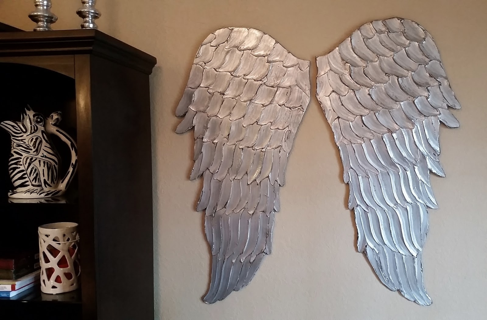 Angel Wings Sculpture Plaque Wall Art With Most Up To Date Bright Design Angel Wings Wall Art Large California Sculpture (View 2 of 15)