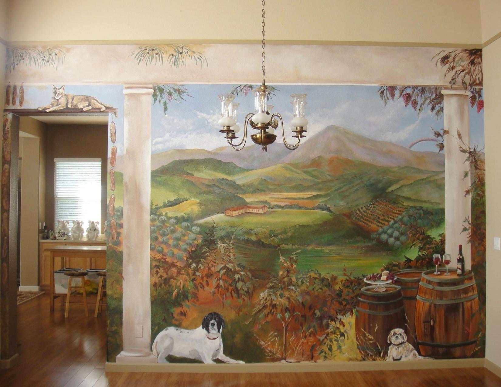 Area Mural Artist, Marion Hatcher, Paints 3D (View 6 of 15)