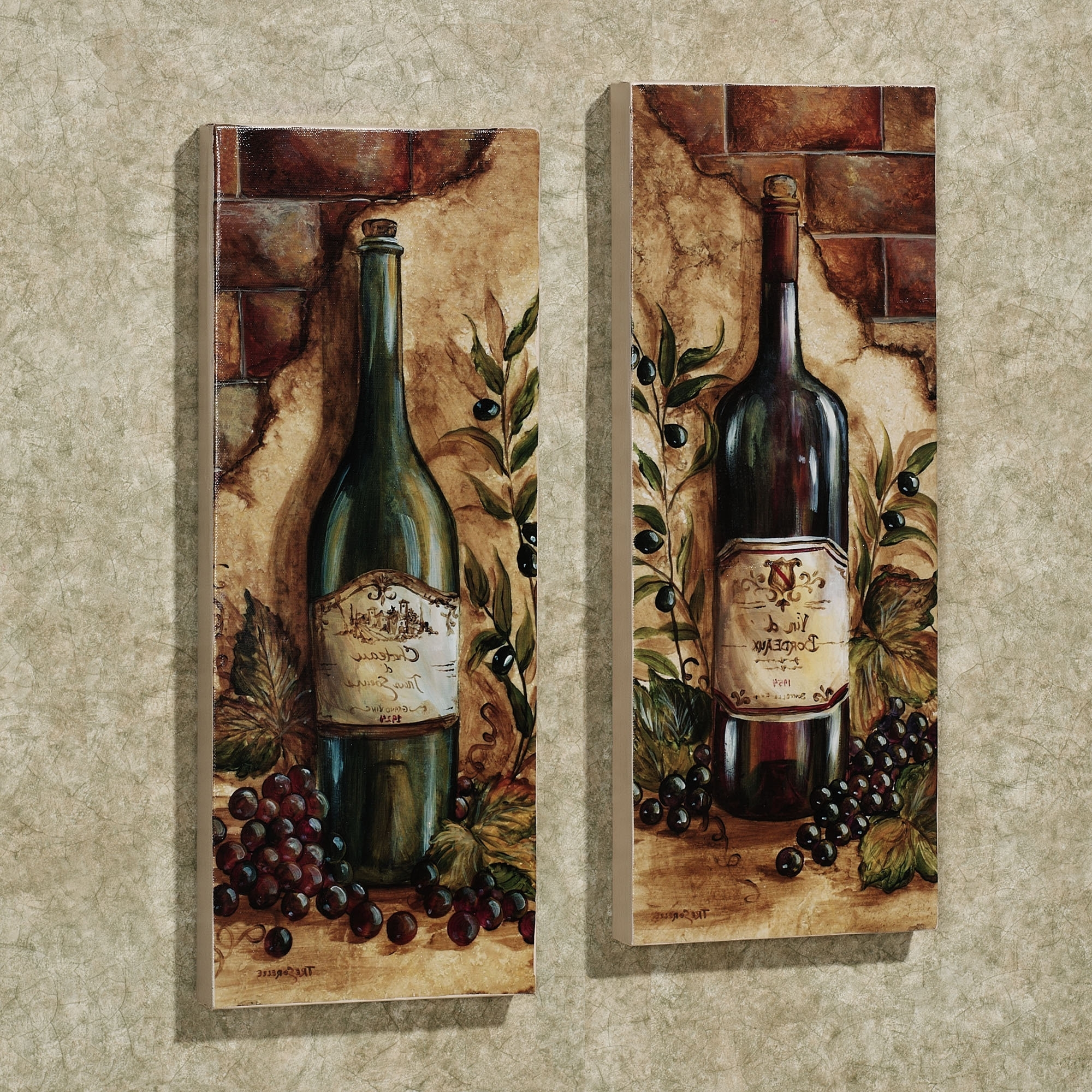 Art Inspiration Intended For Wine And Grape Wall Art (View 1 of 15)