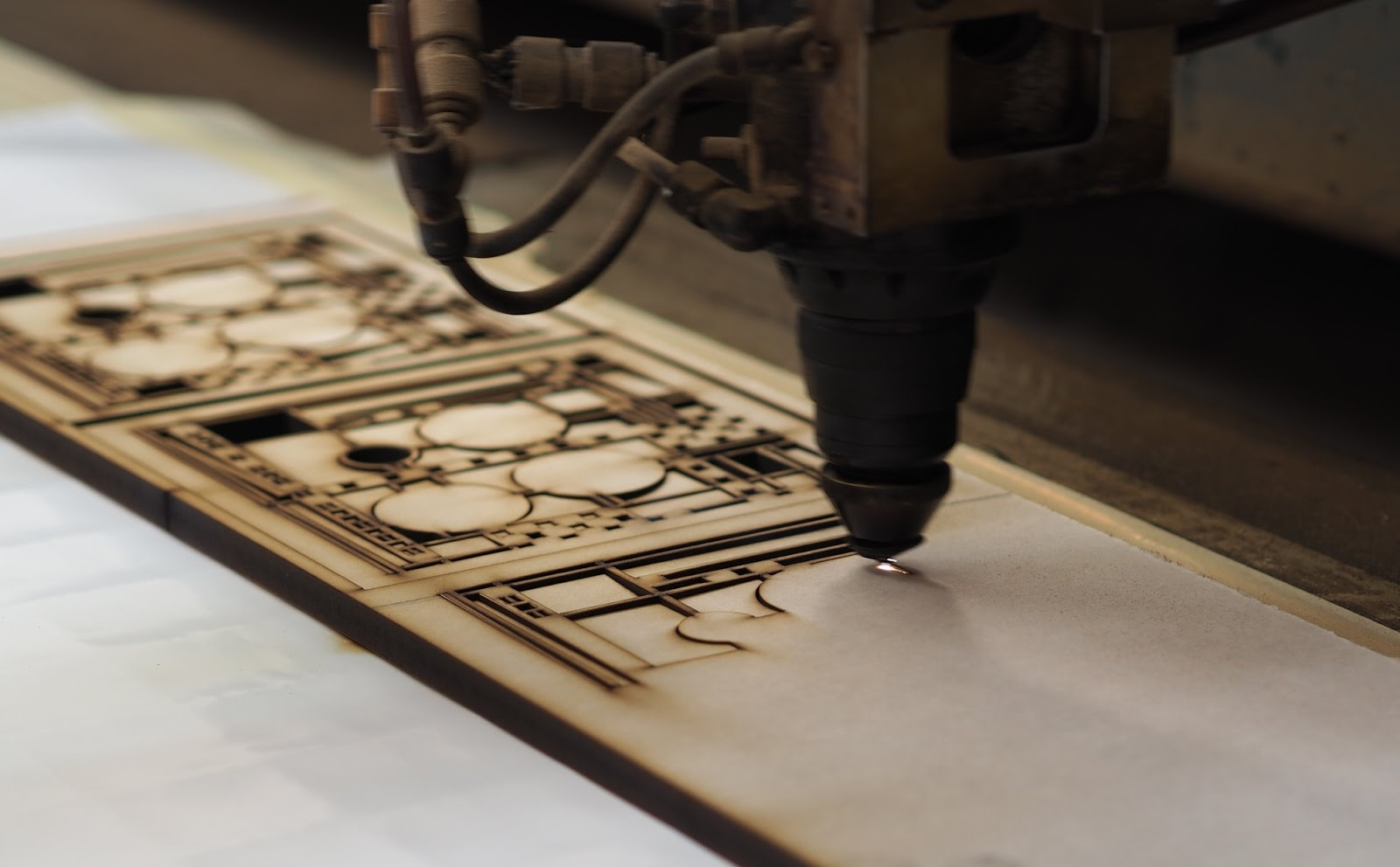 Artifacts: How It's Made : Laser Cut Frank Lloyd Wright® Designs For Famous Frank Lloyd Wright Wall Art (View 2 of 15)