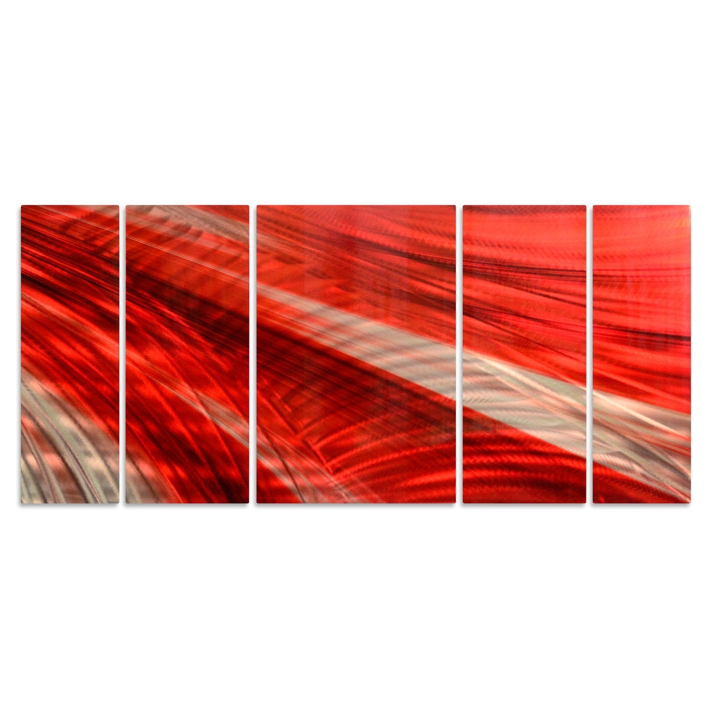 Ash Carl 'deep Red' Metal Wall Art Sculpture – Free Shipping Today Regarding Preferred Ash Carl Metal Art (View 2 of 15)