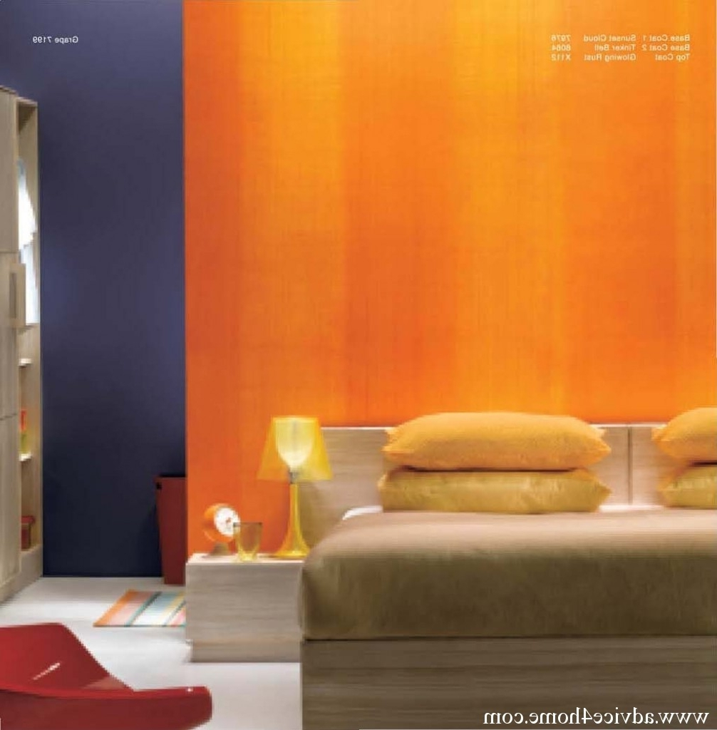 Asian Paints Royale Play Special Effect For Feature Walls, Wall For Most Recent Grape Colour Wall Art (View 4 of 15)