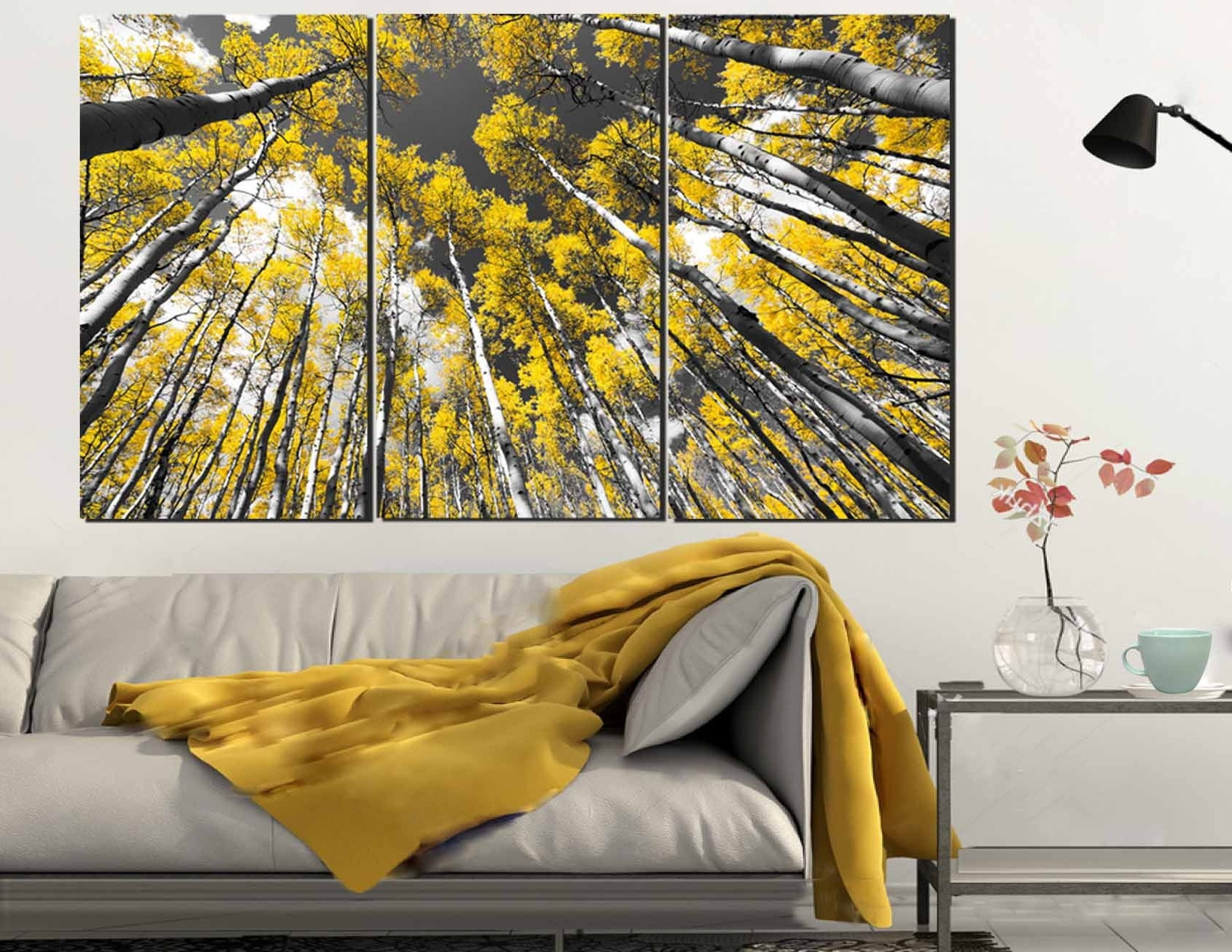 Aspen Tree Wall Art,aspen Tree Art,aspen Tree Canvas Art,aspen Regarding 2018 Aspen Tree Wall Art (View 8 of 15)