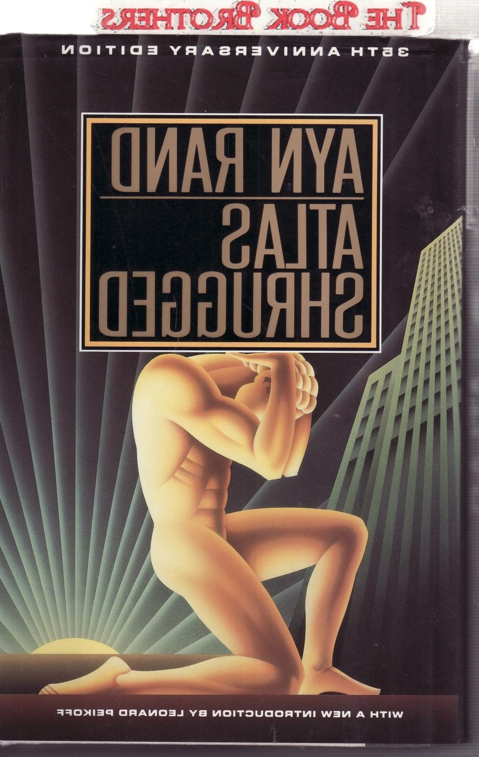 Atlas Shrugged Cover Art Regarding Trendy Atlas Shruggedayn Rand – Abebooks (View 2 of 15)