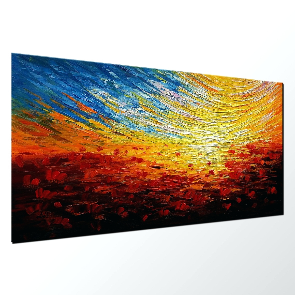 Australian Abstract Wall Art With Regard To Best And Newest Wall Arts: Abstract Canvas Wall Art (View 2 of 15)