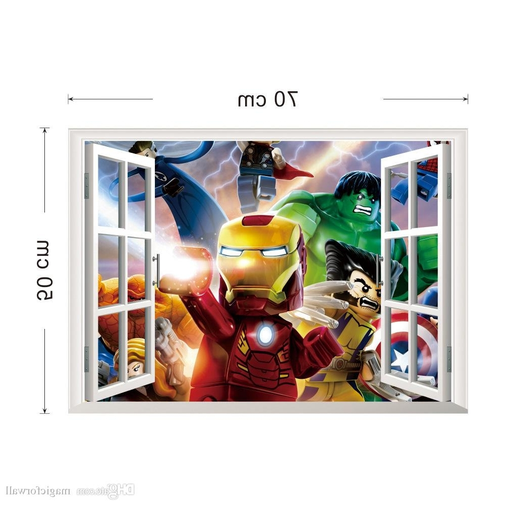 Avengers 3d Wall Art Regarding Recent 35 Avengers Wall Art My Wall Of Life (View 15 of 15)