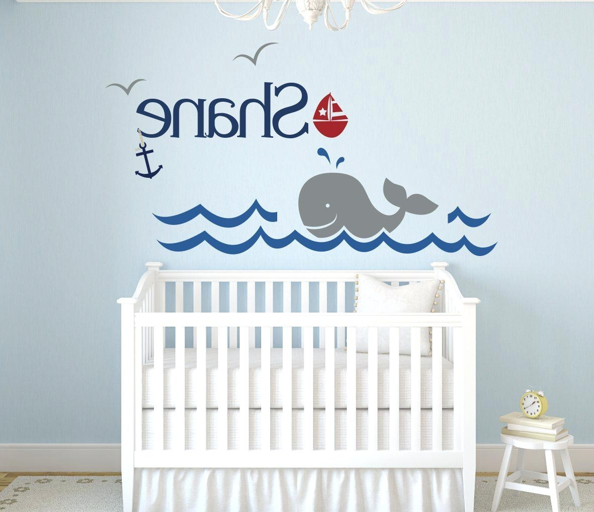 Baby Boy Name Wall Decals Personalized Name Vinyl Wall Art Decor Pertaining To Best And Newest  sc 1 st  Arts Accents Decals Murals Collections and More. & Displaying Gallery of Baby Name Wall Art (View 13 of 15 Photos)