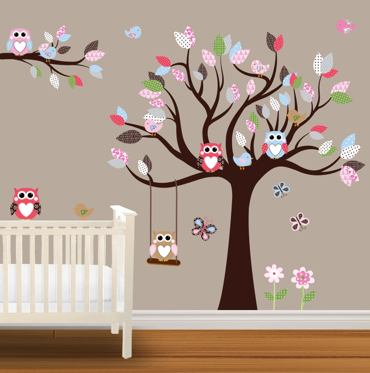 Baby Nursery Wall Stickers Children Wall (View 2 of 15)