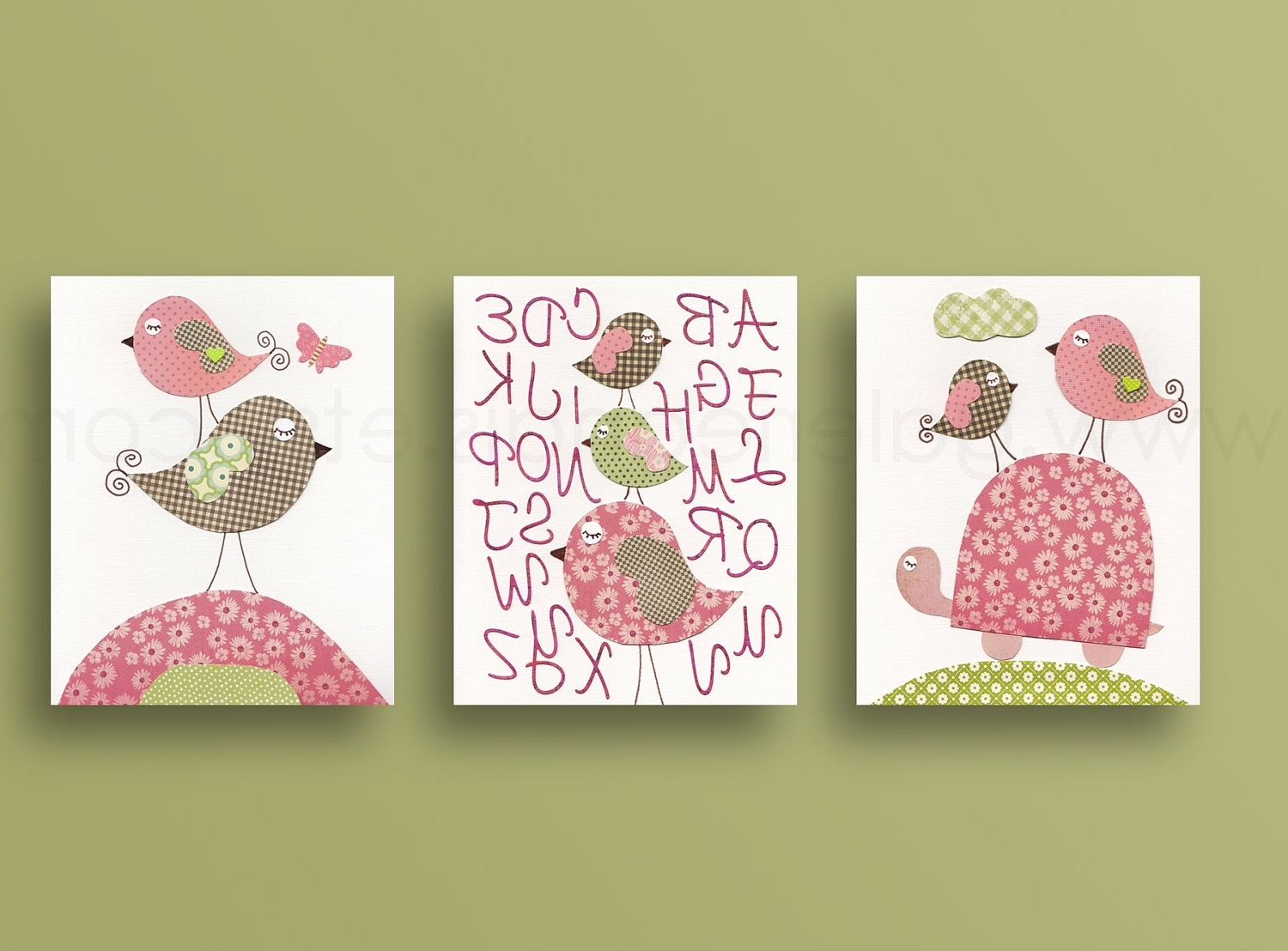 Baby Wall Art Intended For Most Current Baby Girl Room Decor Nursery Wall Art Galerieanais – Dma Homes (View 3 of 15)
