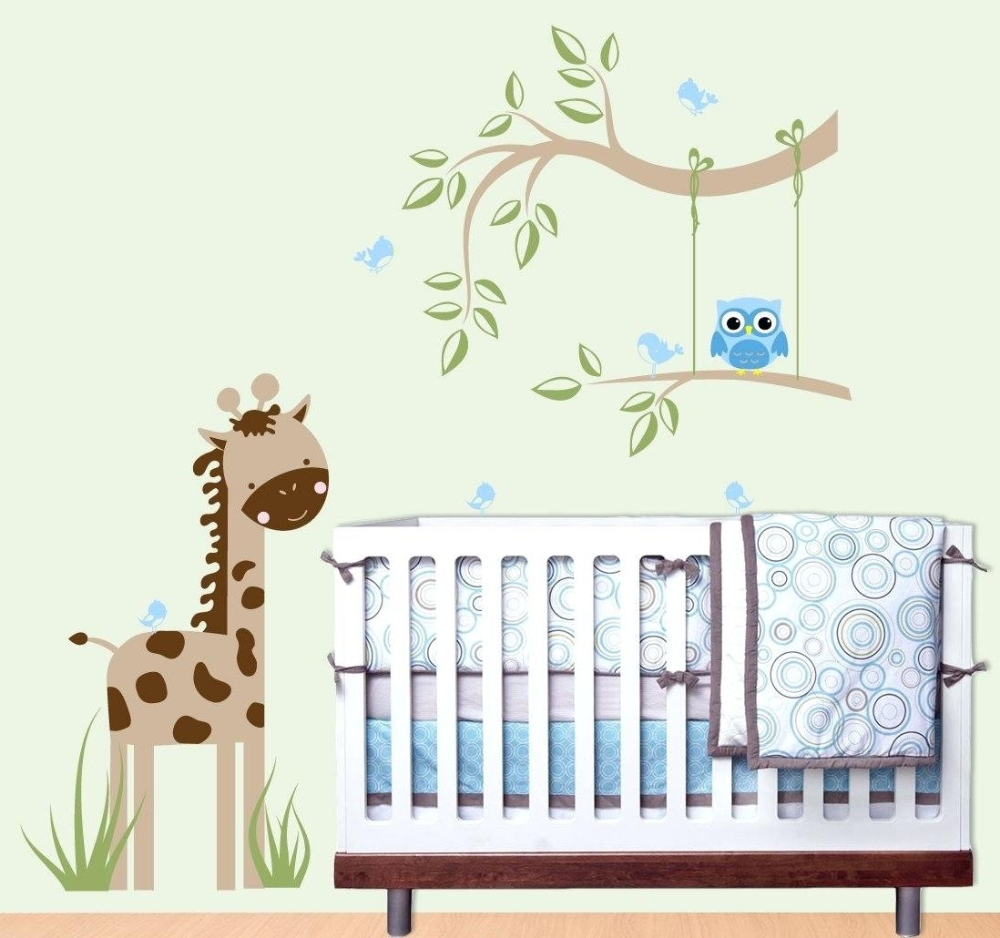 Baby Wall Art Within Current Babies Wall Decals Baby Nursery Wall Decor Baby Nursery Decor (View 8 of 15)