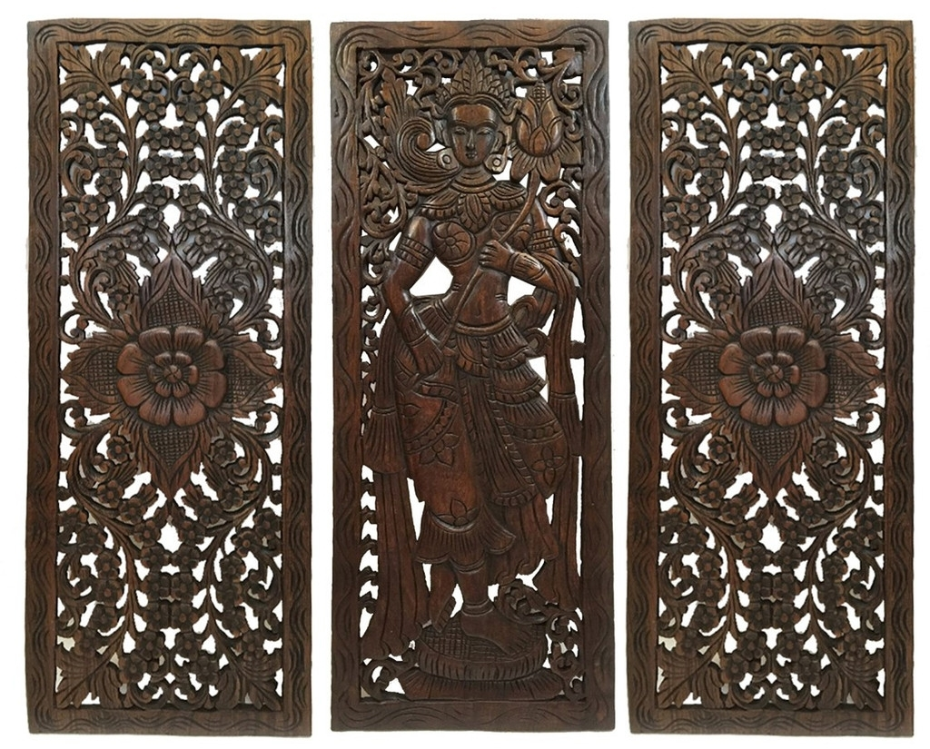 Balinese Wall Art Throughout Famous Multi Panels Oriental Home Decor (View 6 of 15)