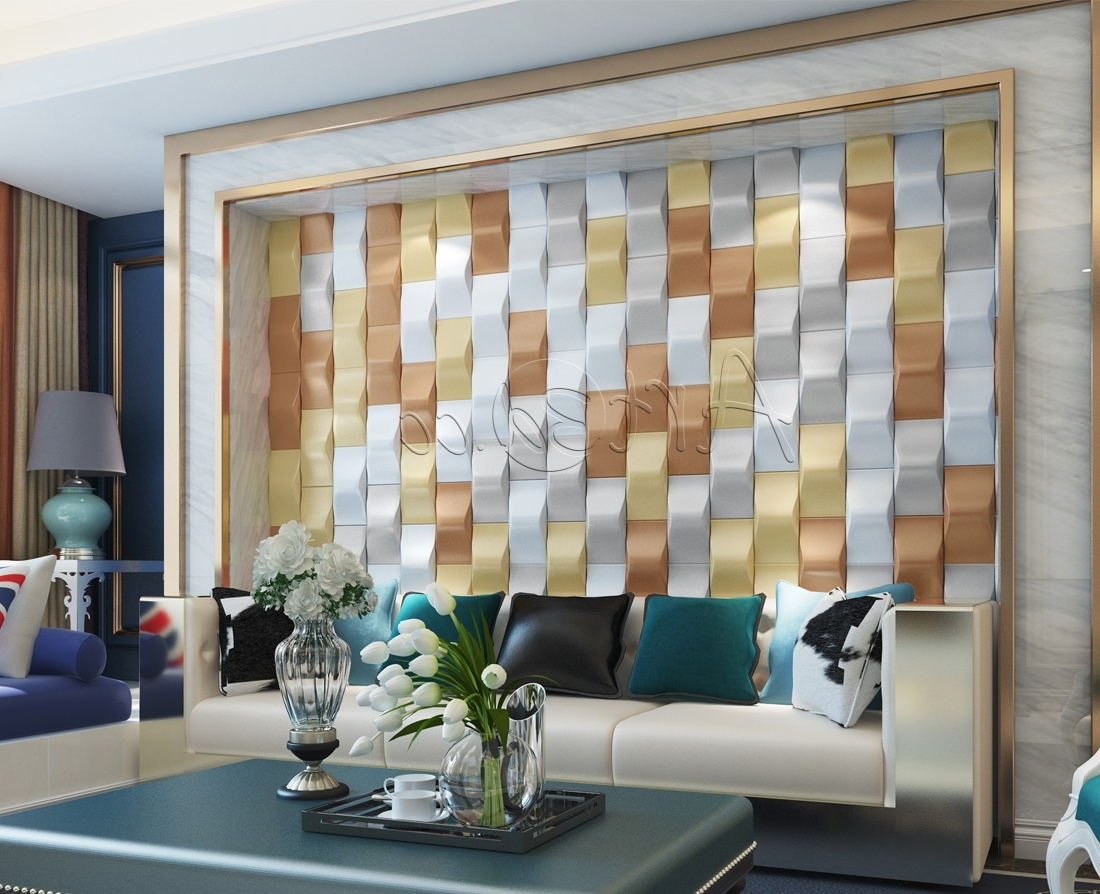 Bangalore 3D Wall Art For Trendy Decorative Wall Panels Design (View 4 of 15)