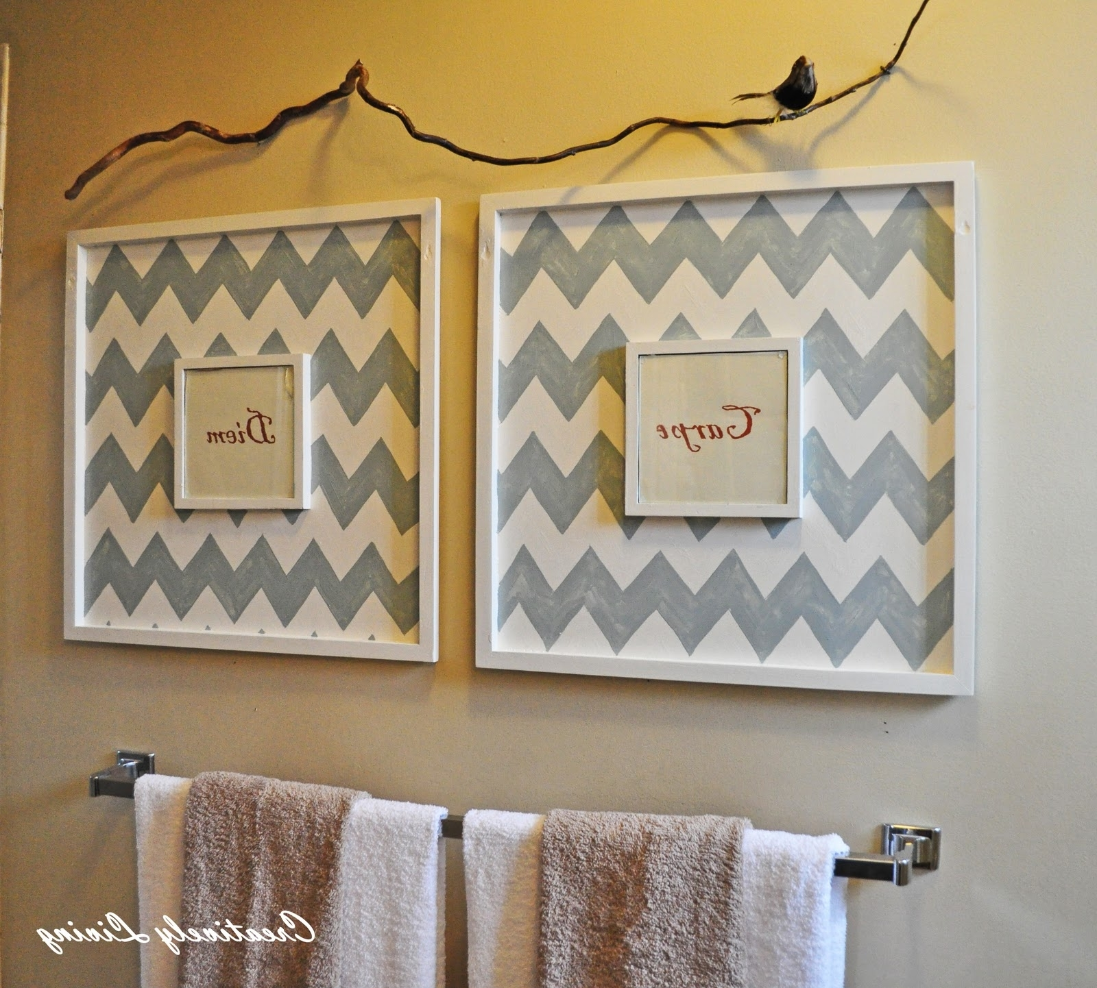 Bathroom Wall Art, Walls And Frames Ideas With Regard To Current Wall Art For The Bathroom (View 9 of 15)