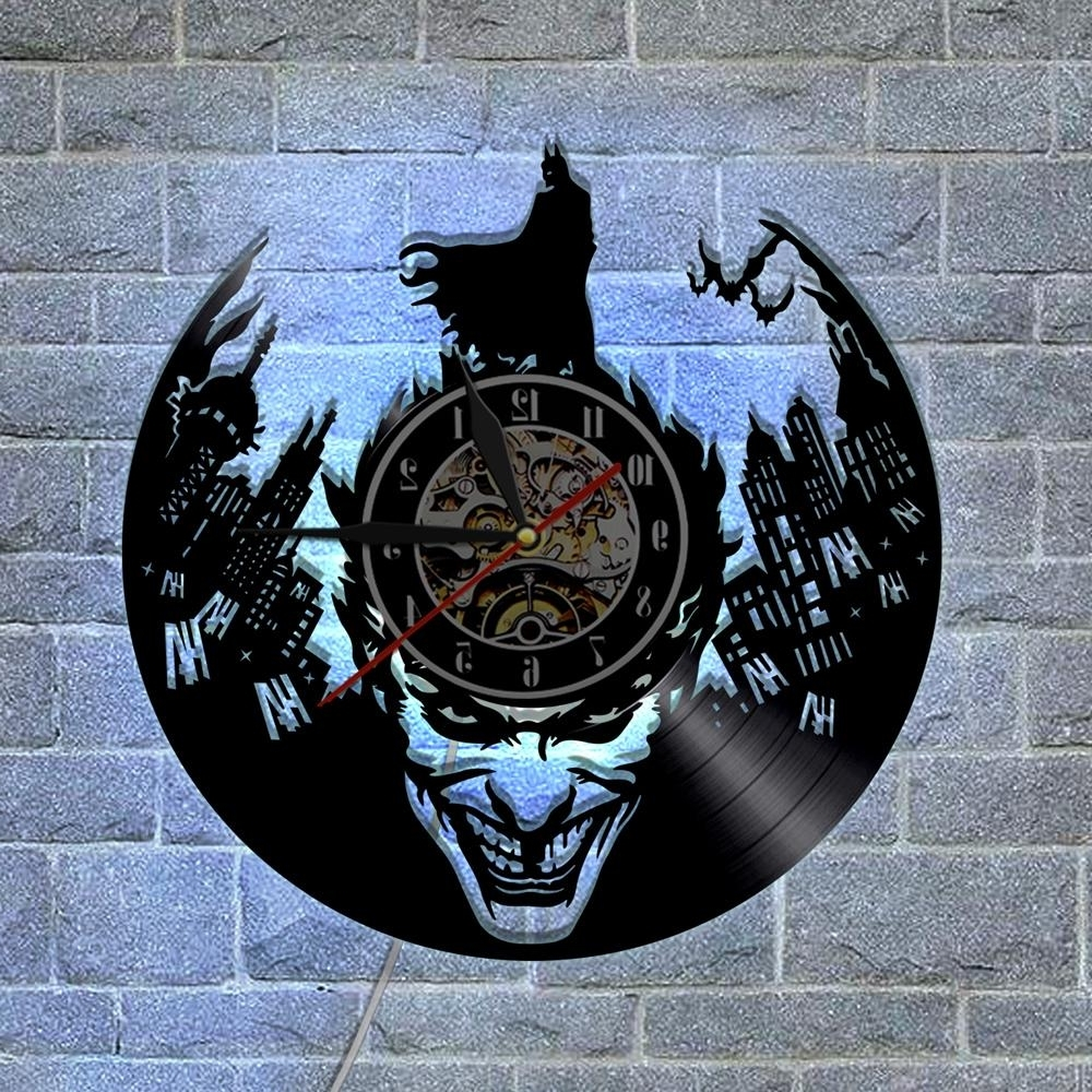 Batman 3D Wall Art With Most Popular Batman Joker Custom Made Gifts Home Decor Modern Design Wall Art (View 4 of 15)
