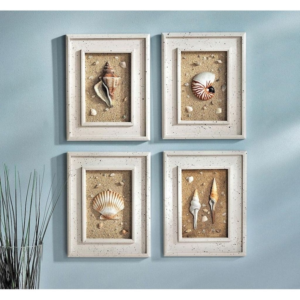 Beach Themed Bathroom Decor Beach Theme Bathroom Decor Design Inside 2018 Beach Themed Wall Art (View 2 of 15)