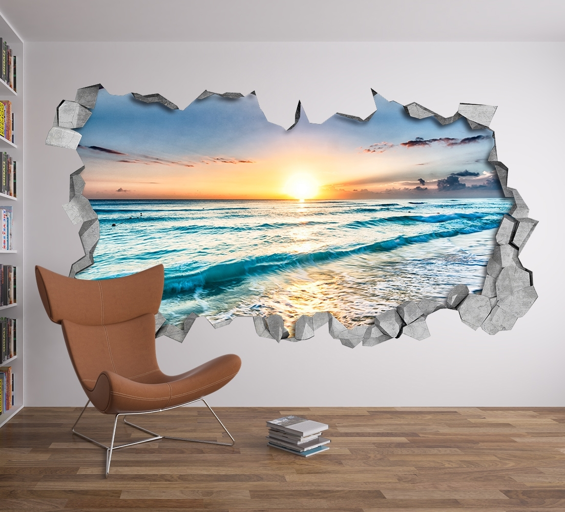 Featured Photo of Beach 3D Wall Art