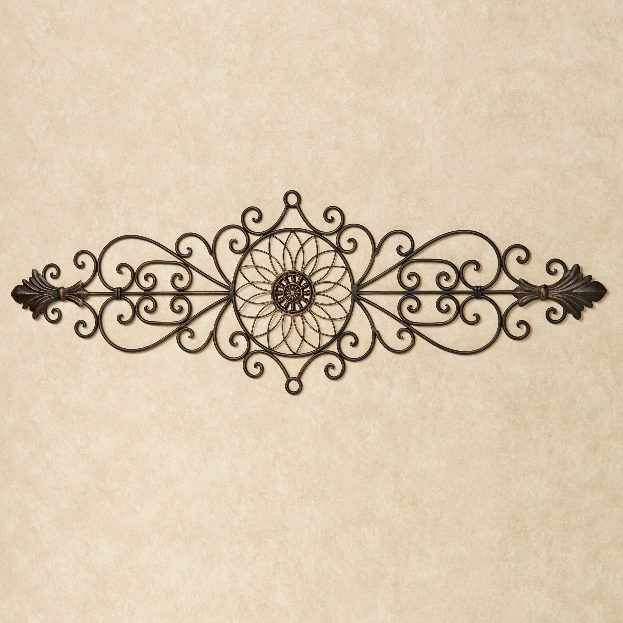 Bedroom : Iron Wall Hangings Wall Plate Outdoor Wall Hangings Regarding Latest Italian Iron Wall Art (View 3 of 15)