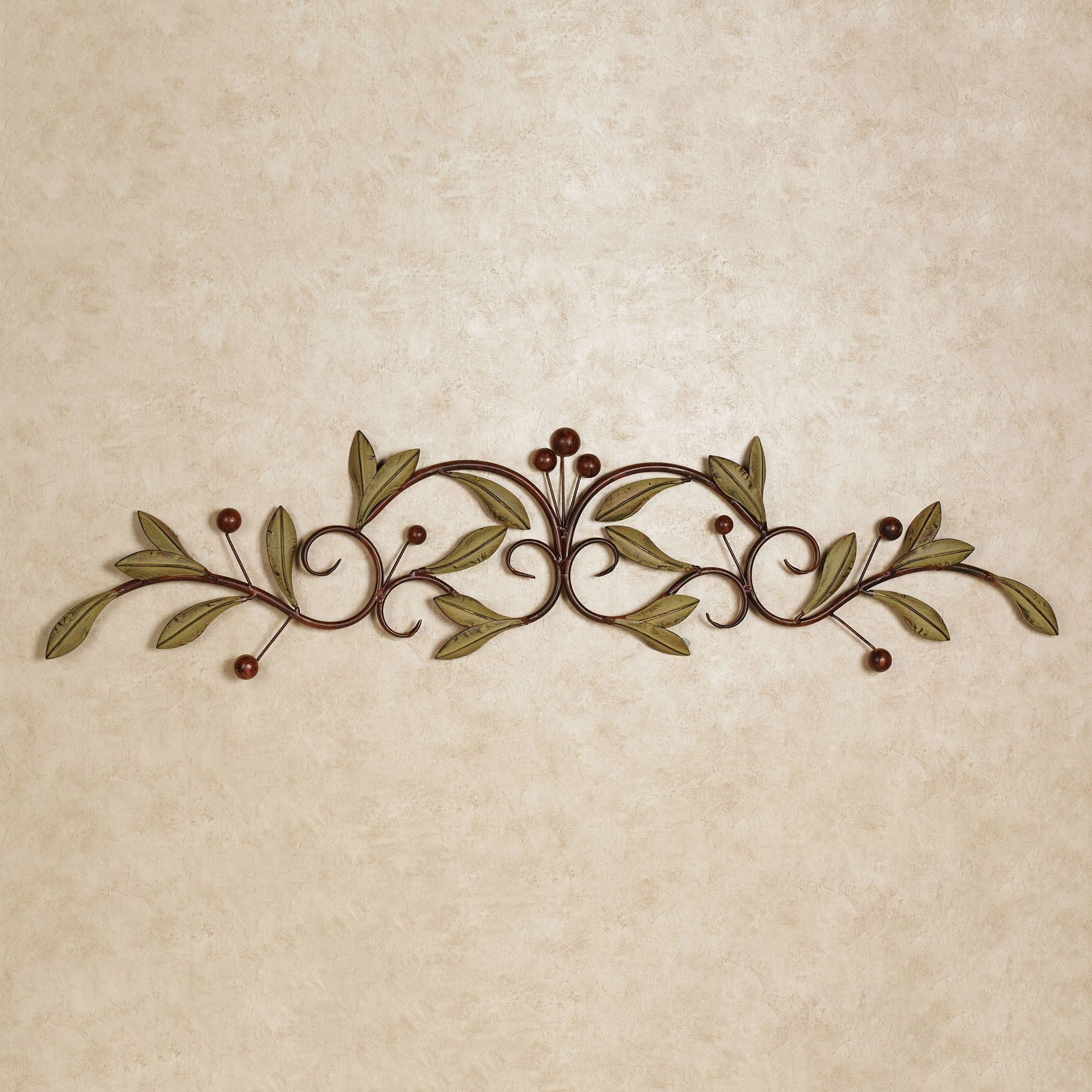 Bedroom : Round Wall Decor Iron Wall Art Metal Wall Plaques Metal Within Recent Italian Plaques Wall Art (View 2 of 15)