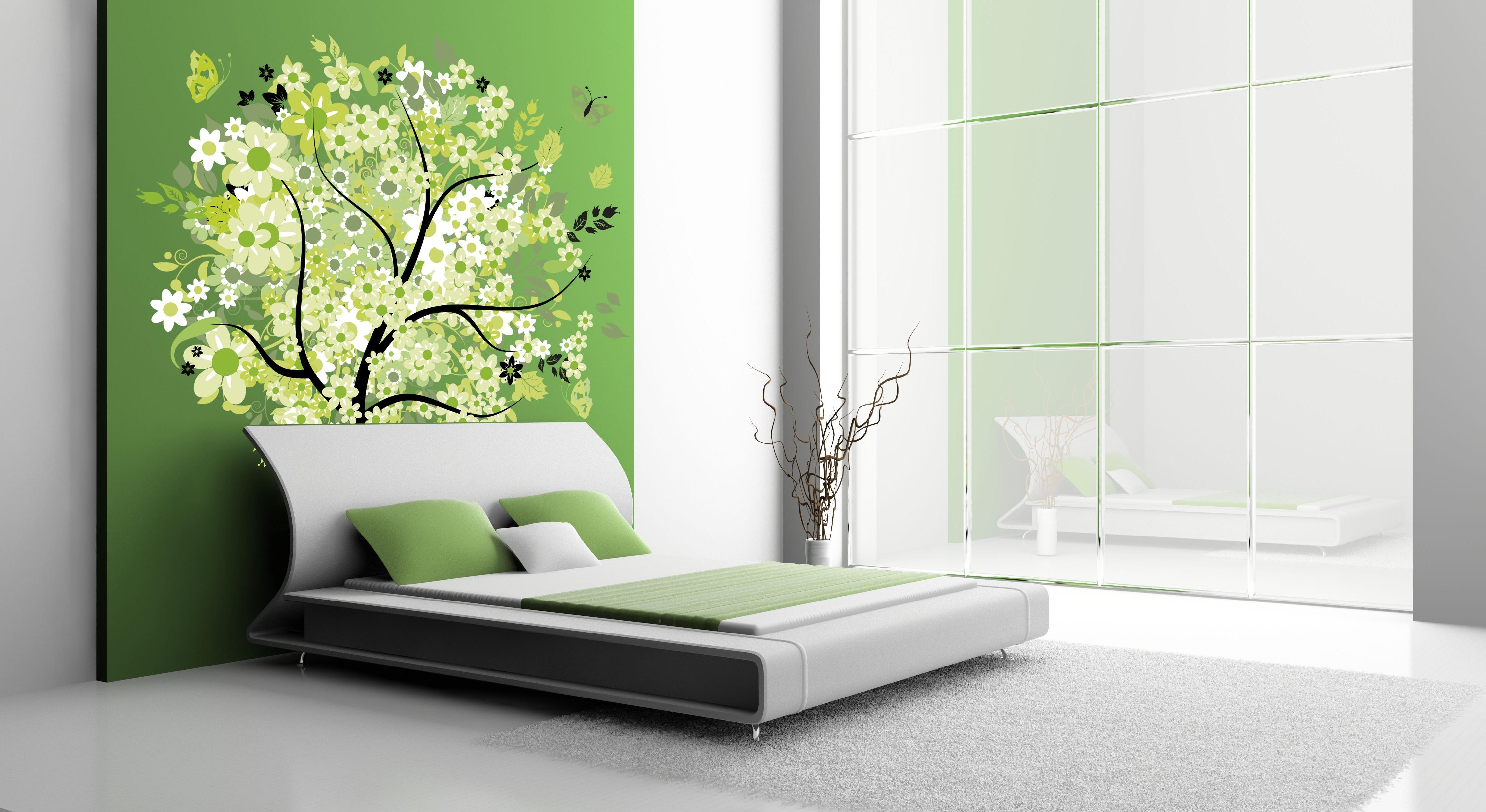 Bedroom: Trendy Bedroom Wall Design. Cheap Bedroom (View 6 of 15)