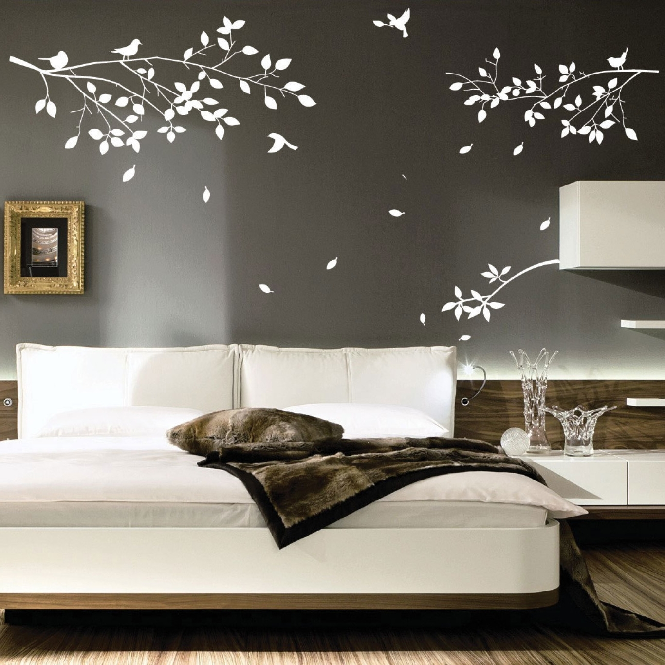 Bedroom Wall Art Decor In Popular Bed Wall Art (View 6 of 15)