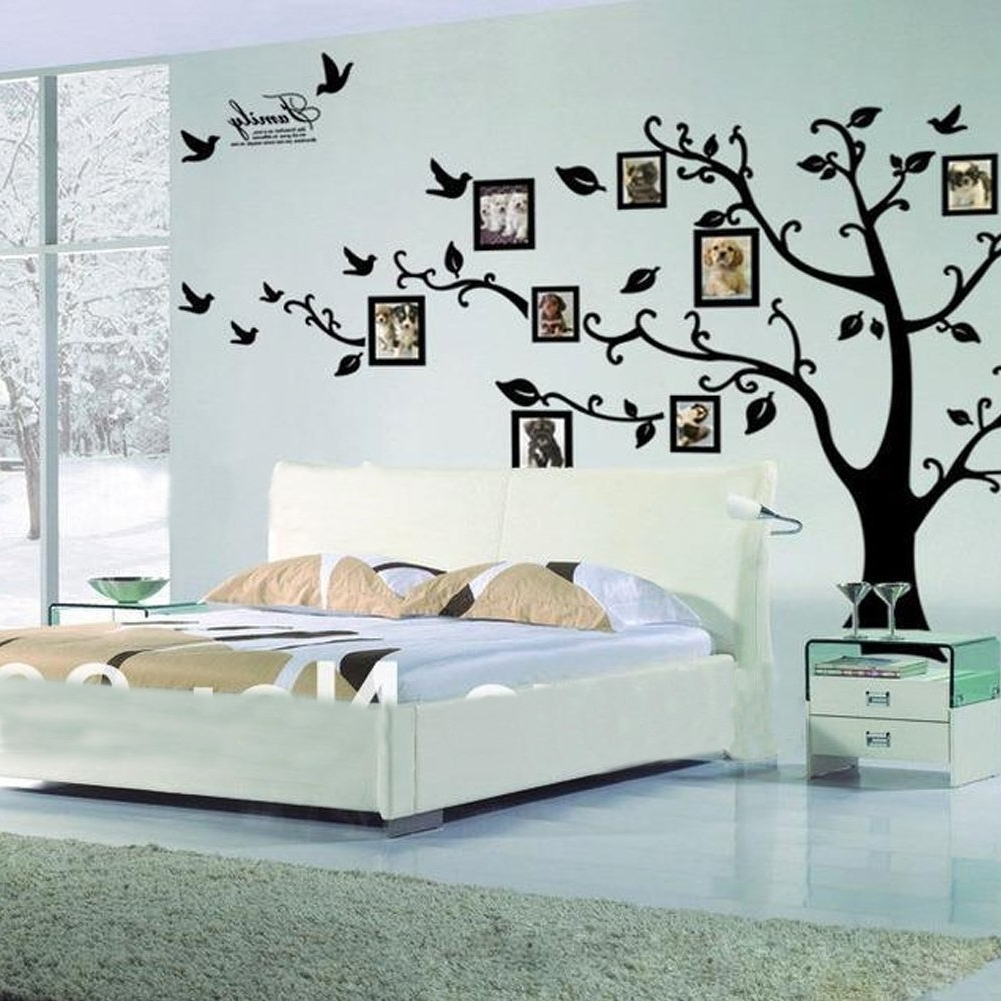 Bedroom Wall Art With Popular 31 Elegant Wall Designs To Adorn Your Bedroom Walls – Ritely (View 7 of 15)