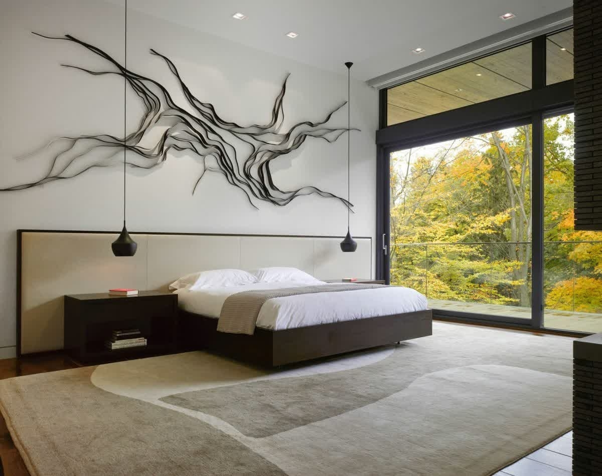 Bedroom Wall Art Within Latest Bedroom Wall Decor To Perfect Your Appearance • Recous (View 8 of 15)