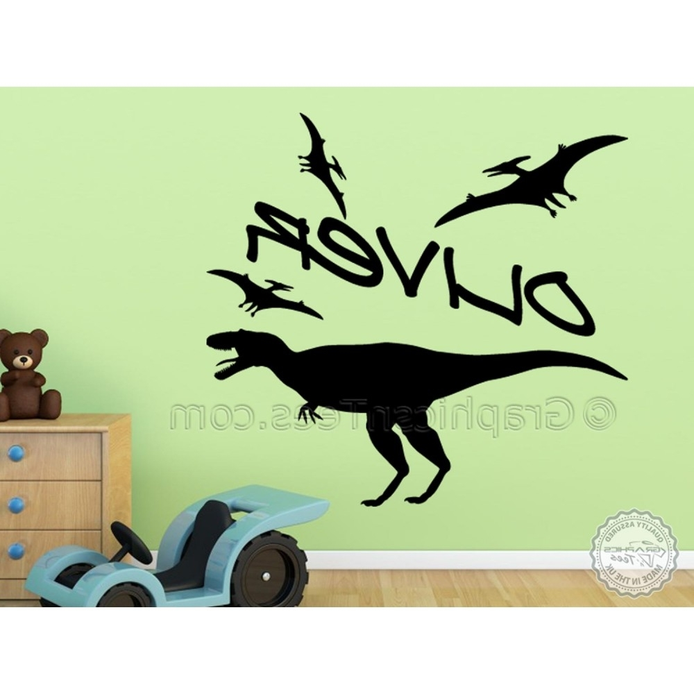 Beetling Brachiosaurus Dinosaur 3D Wall Art For Trendy Awe Inspiring Dinosaur Wall Decor Together With Childrens (View 4 of 10)