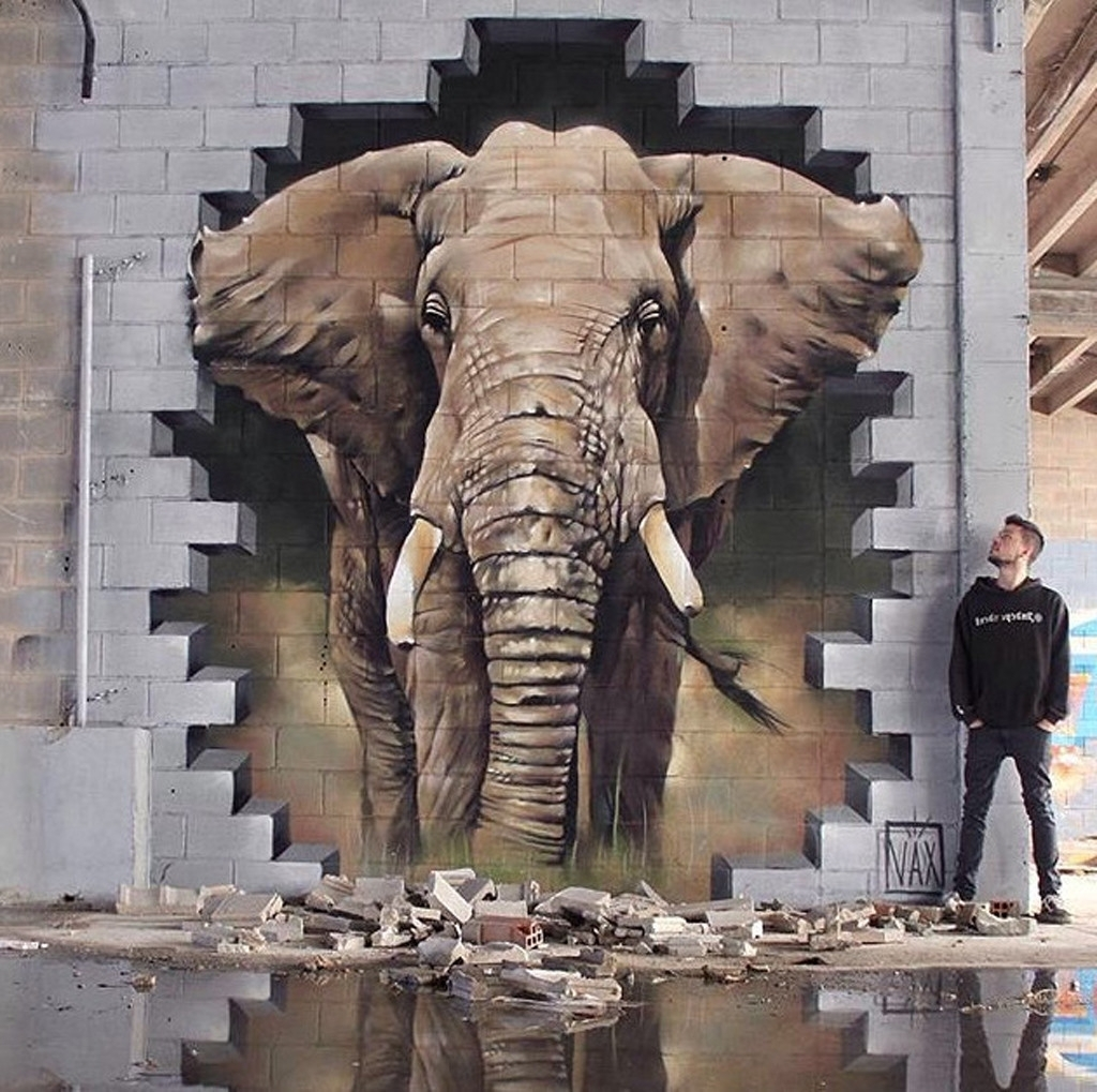 Best 25+ 3D Street Painting Ideas On Pinterest (View 8 of 15)