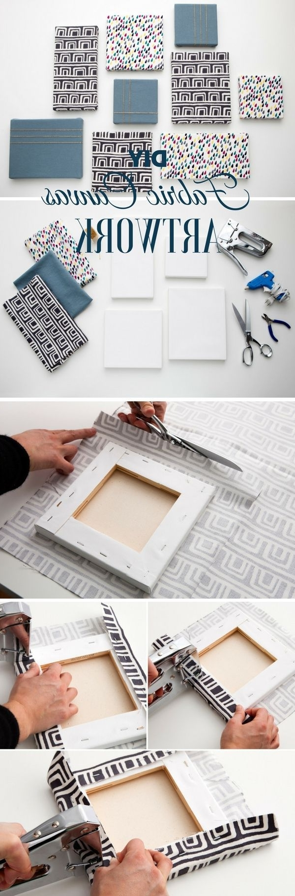 Best 25+ Fabric Wall Art Ideas On Pinterest (View 3 of 15)
