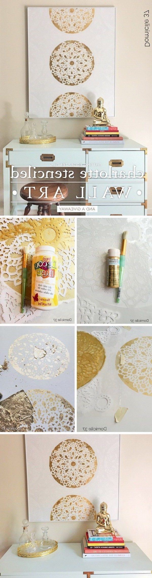 Best 25+ Gold Wall Art Ideas On Pinterest (View 11 of 15)