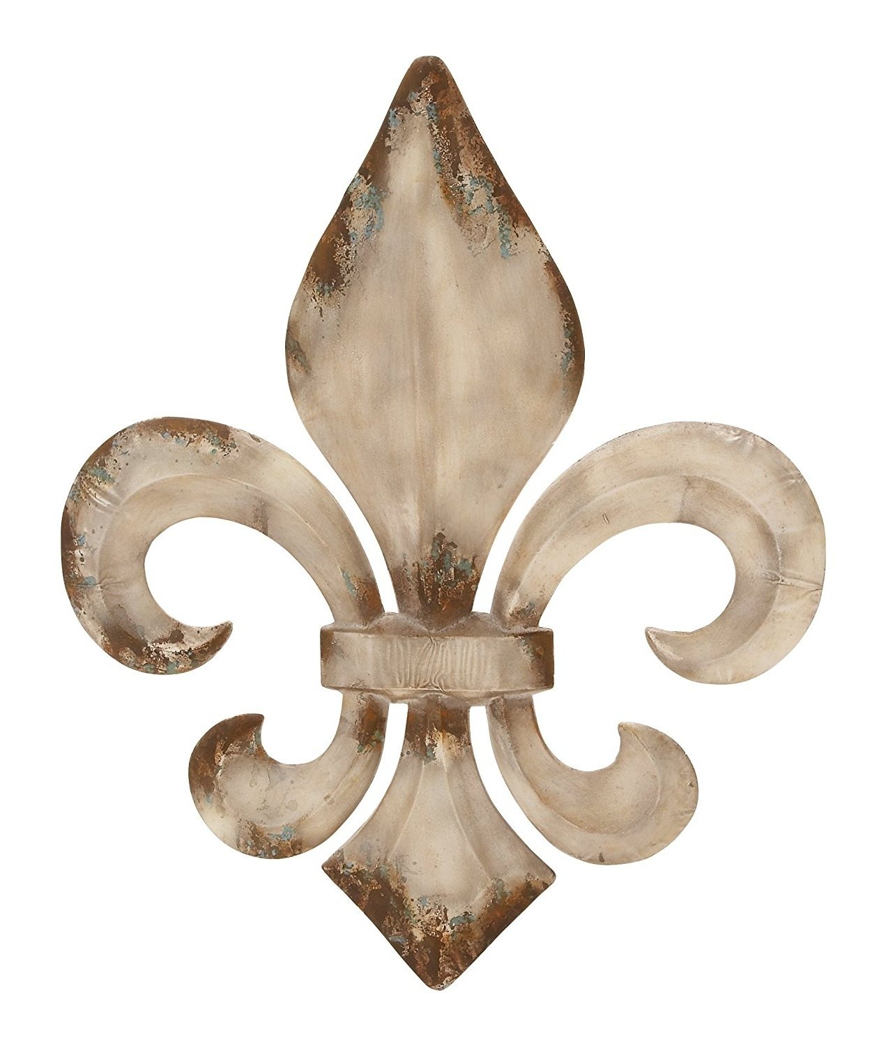 "Best And Newest Amazon: Deco 79 Metal Fleur De Lis Wall Decor, 2530"": Home With Fleur De Lis Metal Wall Art (View 8 of 15)"