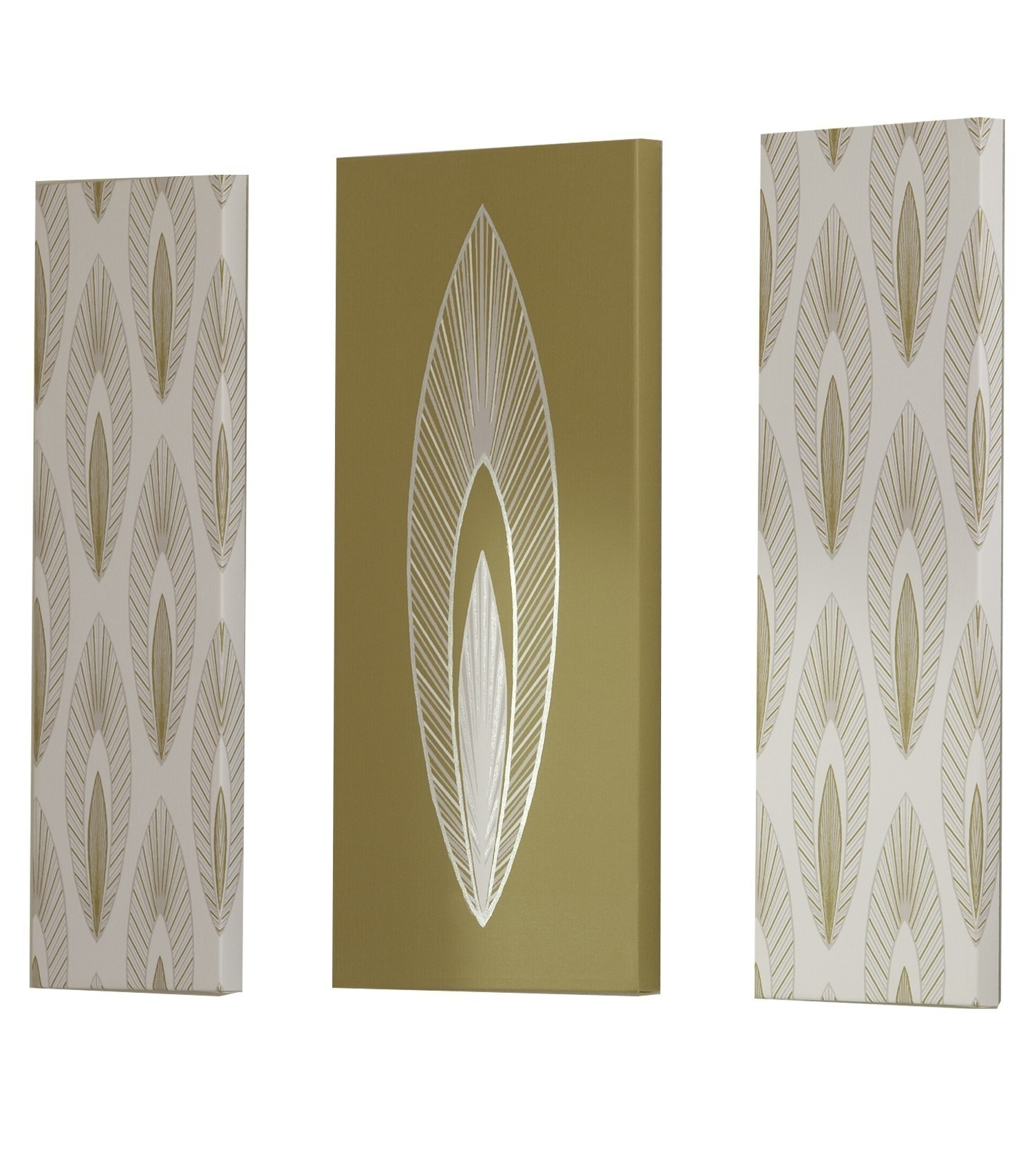 Best And Newest Arrow Leaf Wall Art Set Chartreuse 70x60cmiliv Intended For Elements Wall Art (View 2 of 15)
