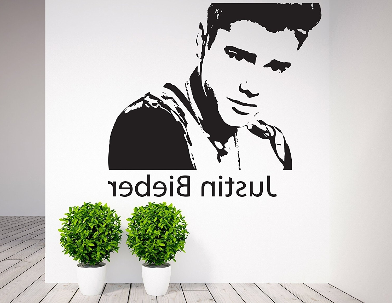 Best And Newest Justin Bieber , Wall Art, Celebrity, Icons, Famous People – Vinyl Throughout Justin Bieber Wall Art (View 1 of 15)
