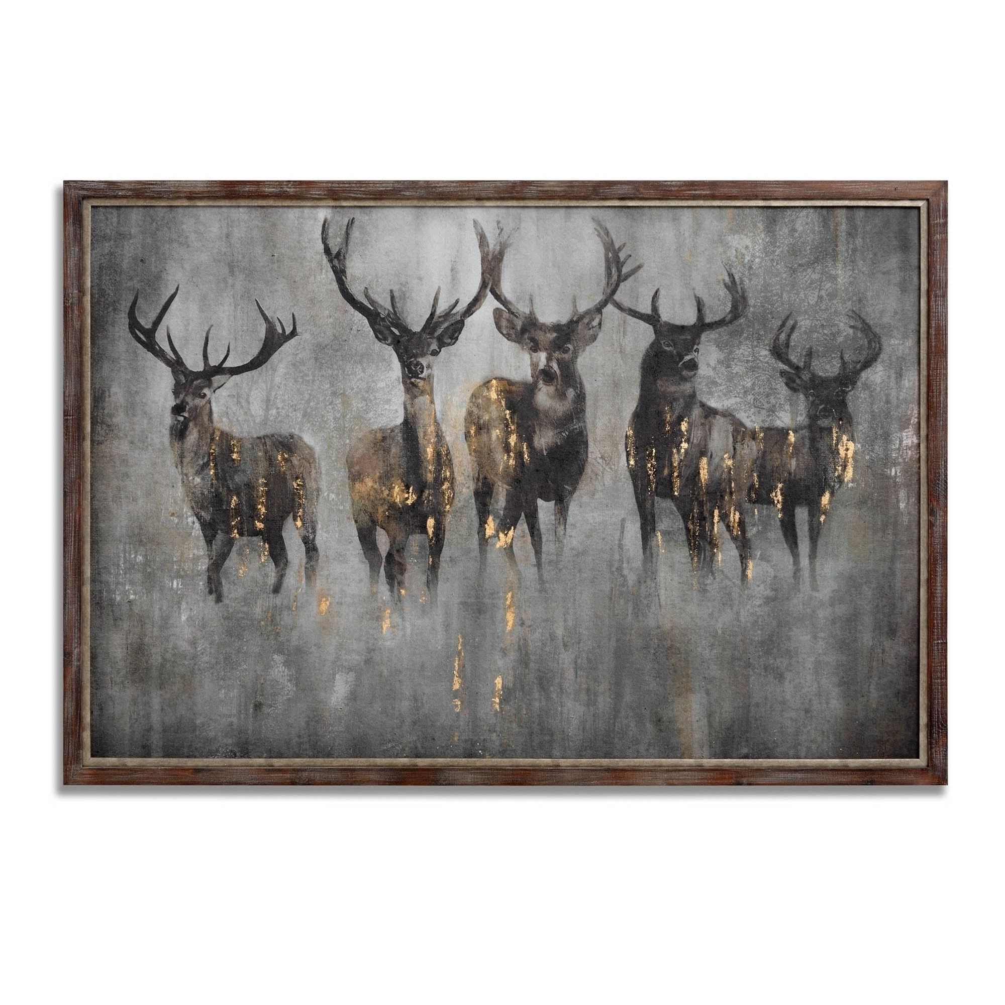 Best And Newest Large Curious Stag Wall Art (View 2 of 15)