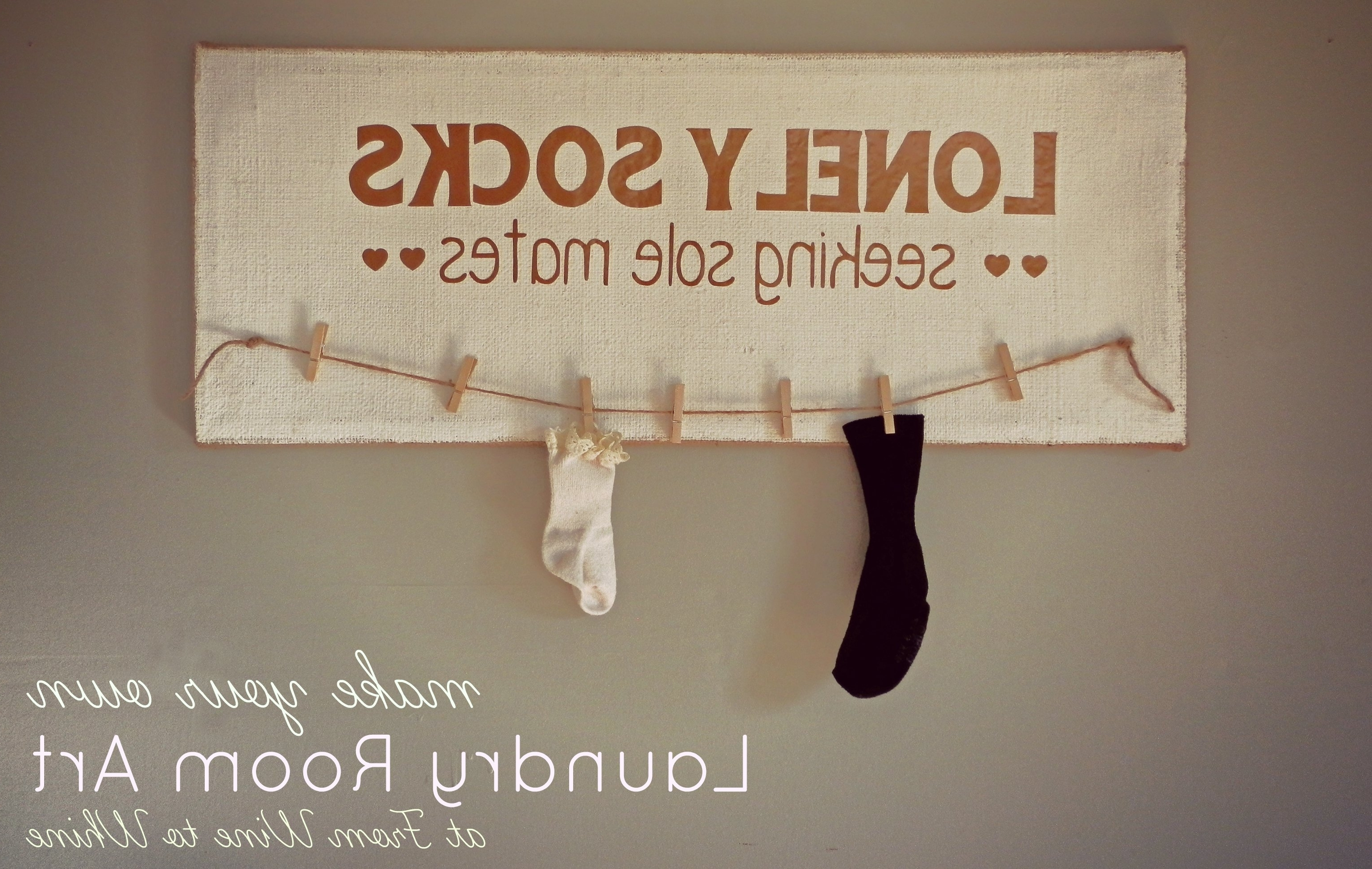 Best And Newest Laundry Room Wall Art Decors With Wall Art For Laundry Room – Creeksideyarns (View 2 of 15)