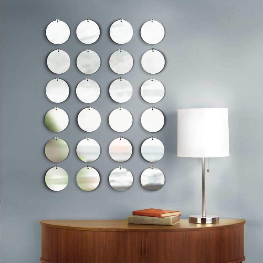 Best And Newest Mirrored Circles Wall Decor Ideas (View 1 of 15)