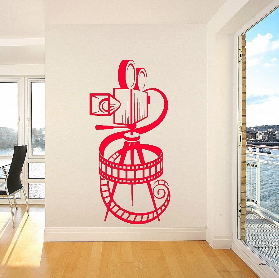 Best And Newest Movie Themed Wall Art Regarding Movie Themed Wall Art Elegant Movie Camera Film Reel Home Cinema (View 9 of 15)