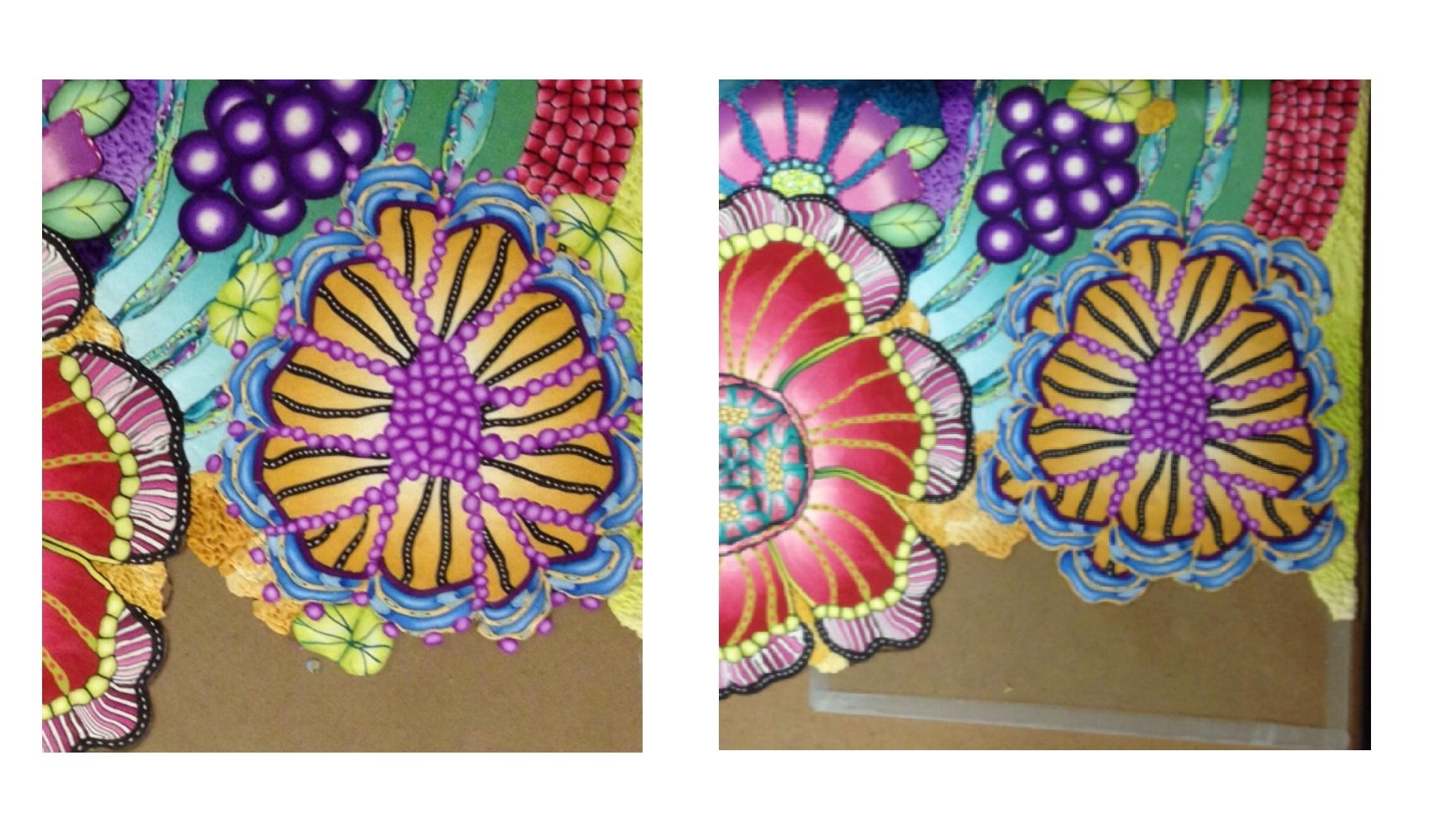 Best And Newest Polymer Clay Wall Art – Flowers « Polymer Clay Etc (View 1 of 15)