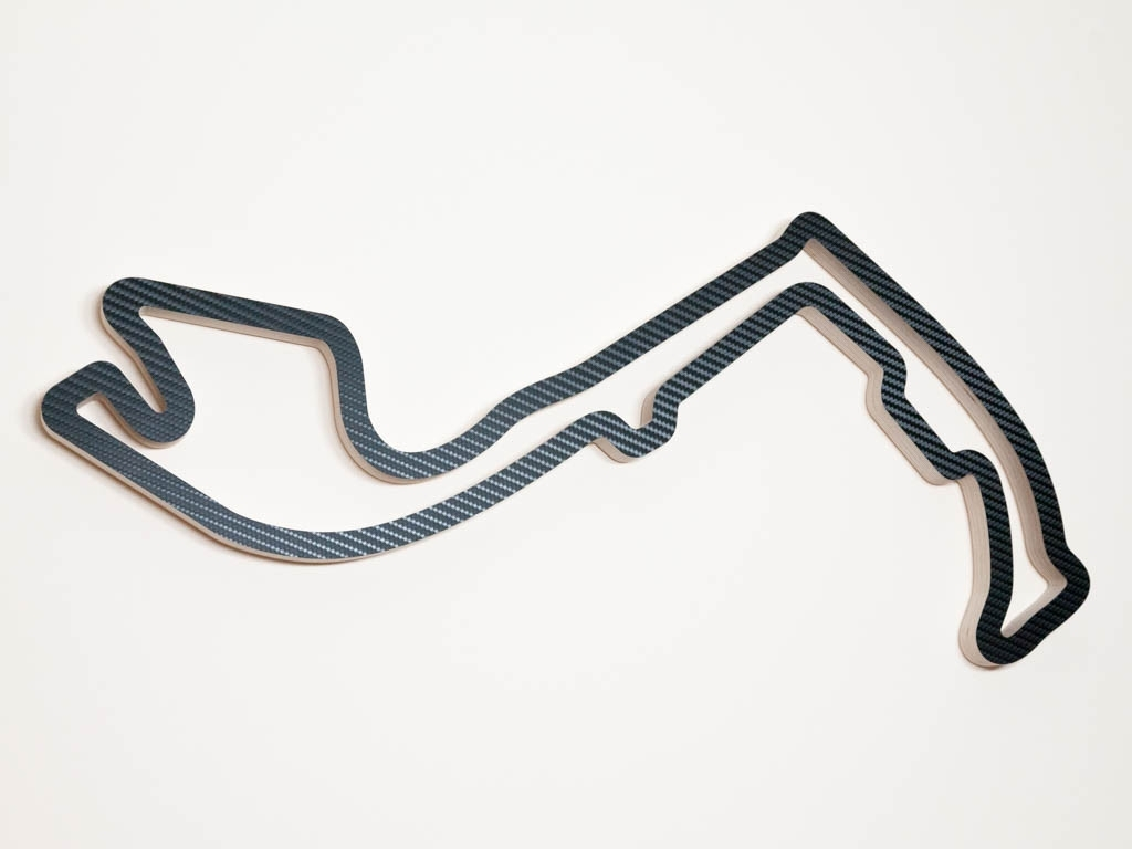 Best And Newest Race Track Wall Art For Circuit De Monaco Monte Carlo Wood Race Course Wall Art Replica In (View 2 of 15)