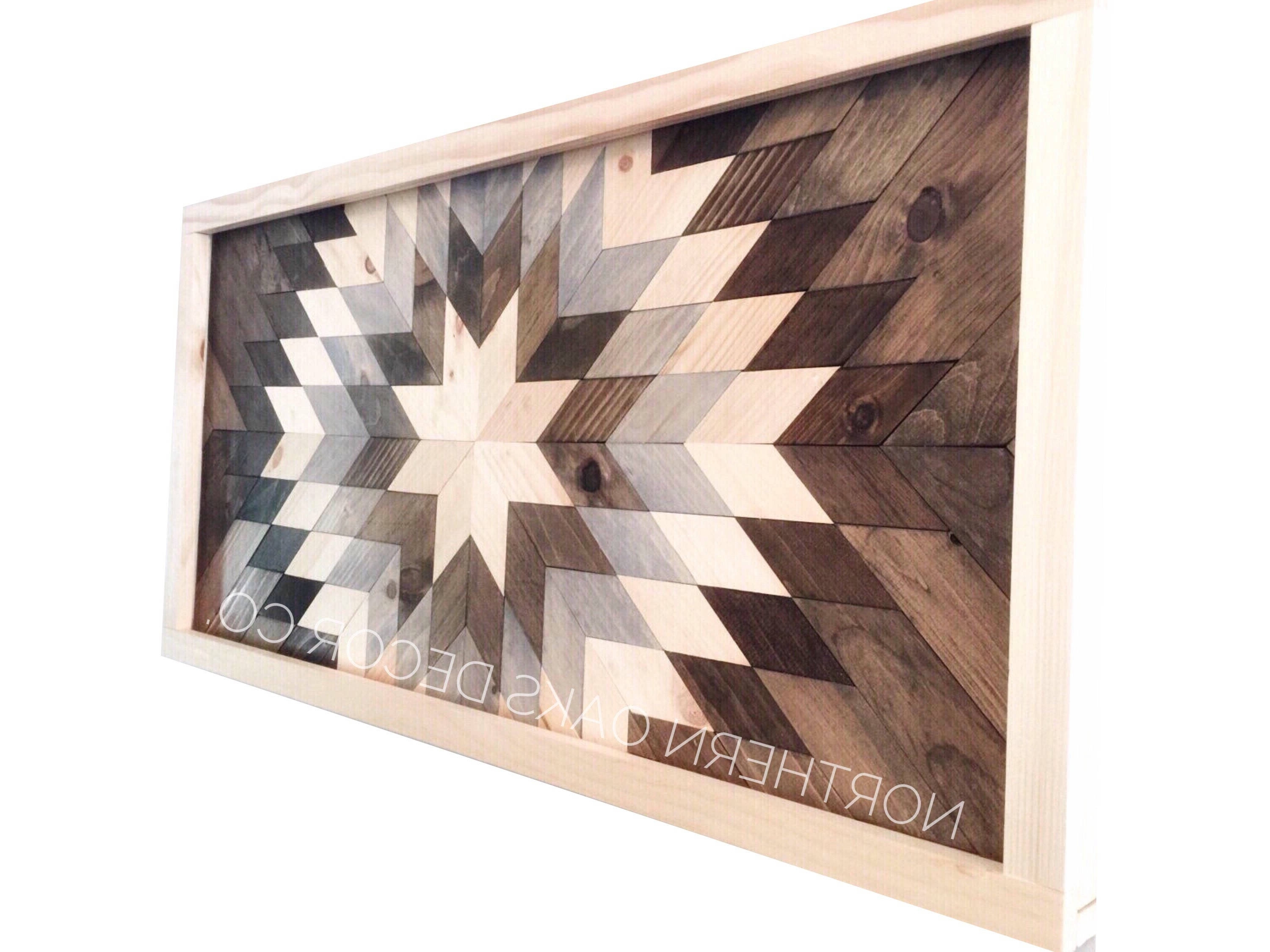 Best And Newest Reclaimed Wood Wall Art – Sunburst In Gray – Dark Frame Pertaining To Dark Wood Wall Art (View 1 of 15)