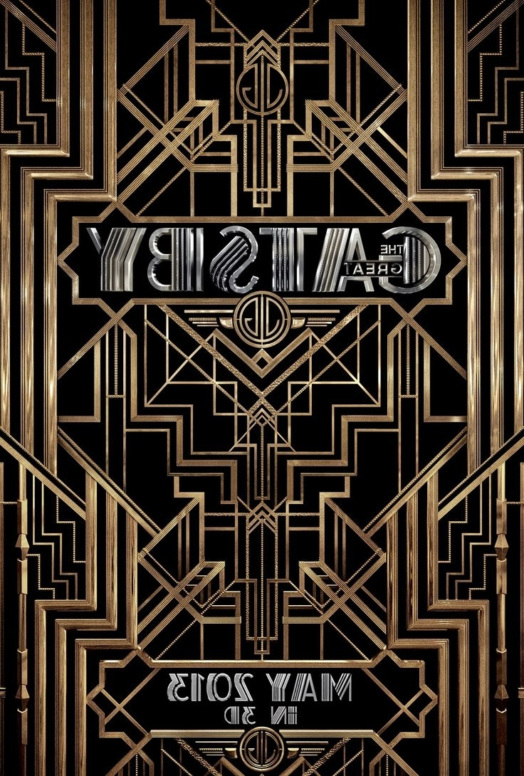 Best Film Posters : The Great Gatsby Typefaces Used: Atlas Atlas With Current Great Gatsby Wall Art (View 5 of 15)