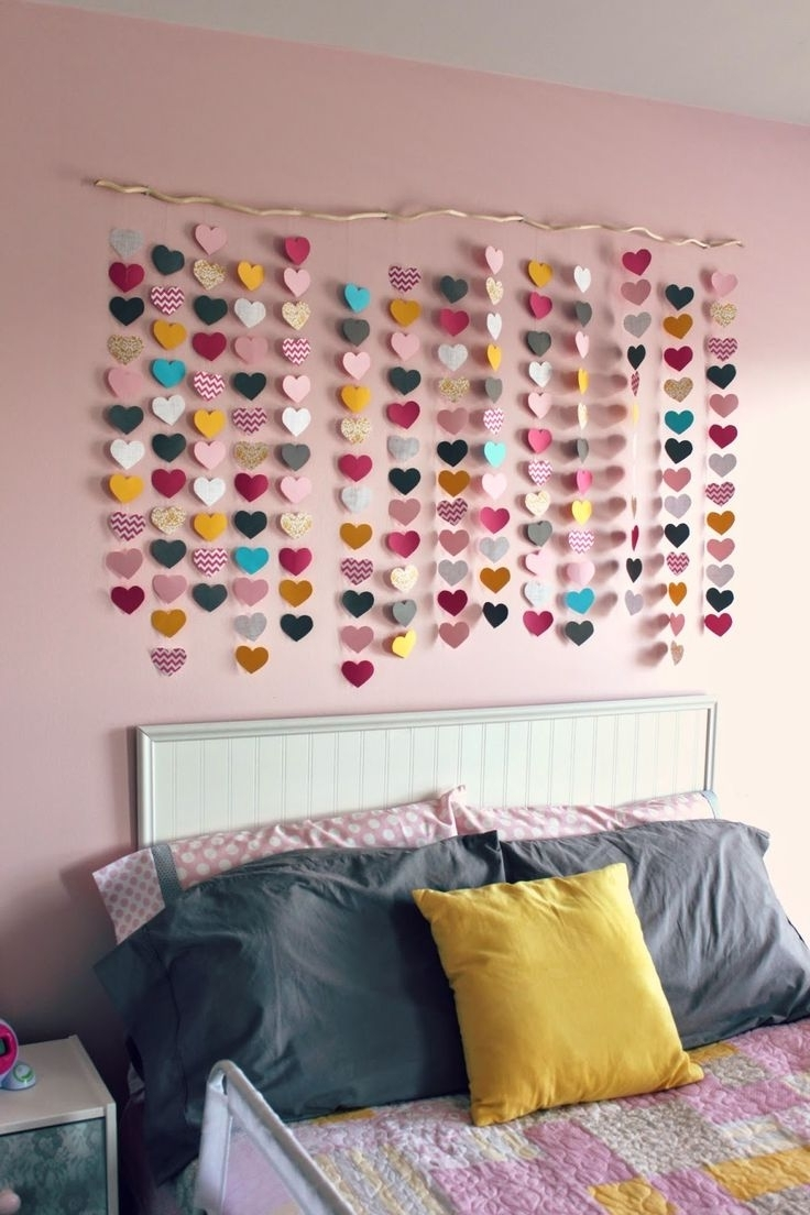 Best Girl Room Decorating Ideas Teen Wall Art For Teenage Bedrooms Pertaining To Most Current Teenage Wall Art (View 1 of 15)