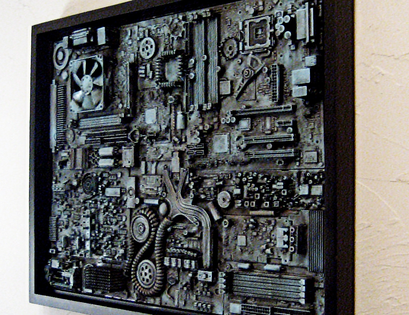 Awesome Best Industrial Wall Art U2013 Wall Art And Wall Decoration Ideas Inside Most  Recent Industrial Wall