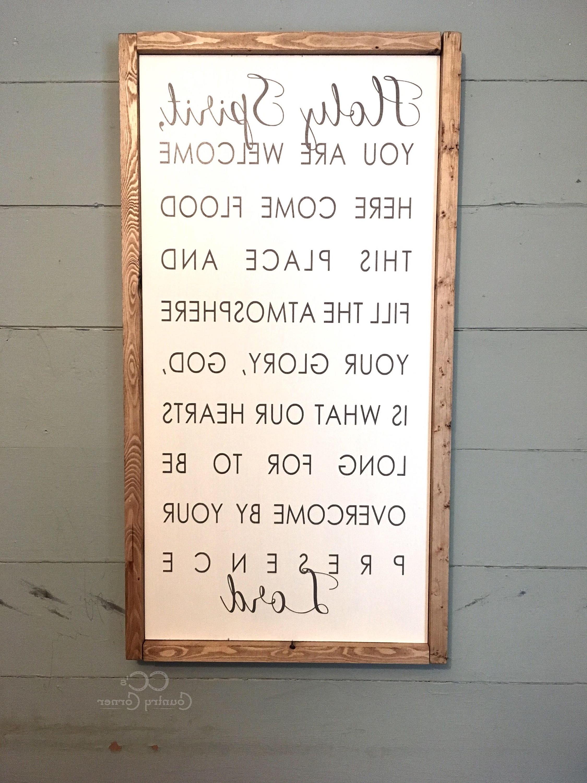Bible Verse Inside Bible Verses Framed Art (View 1 of 15)