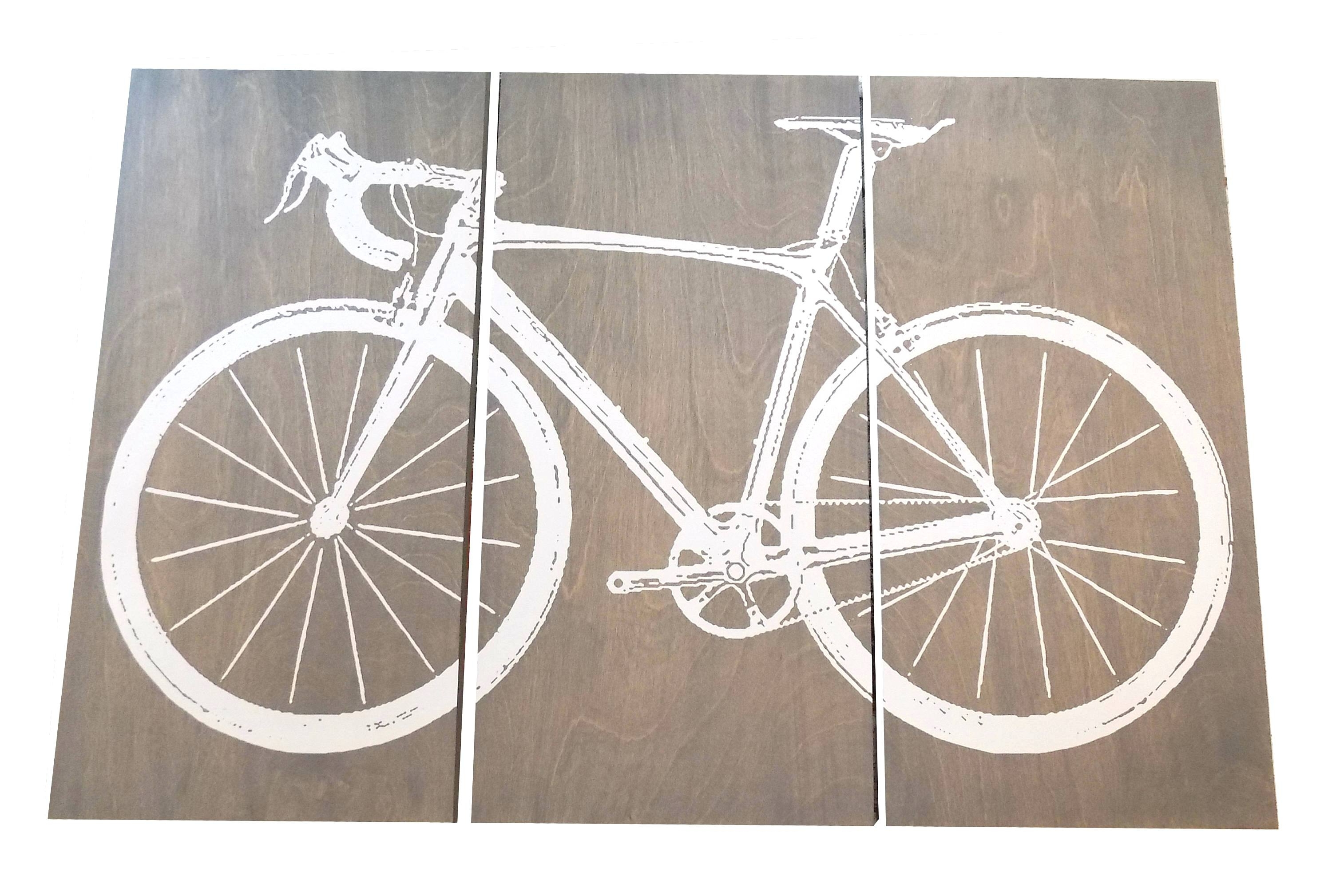 Bicycle Wall Art French Canvas Where To Find The Street In Map In Most Up To Date Bike Wall Art (View 13 of 15)