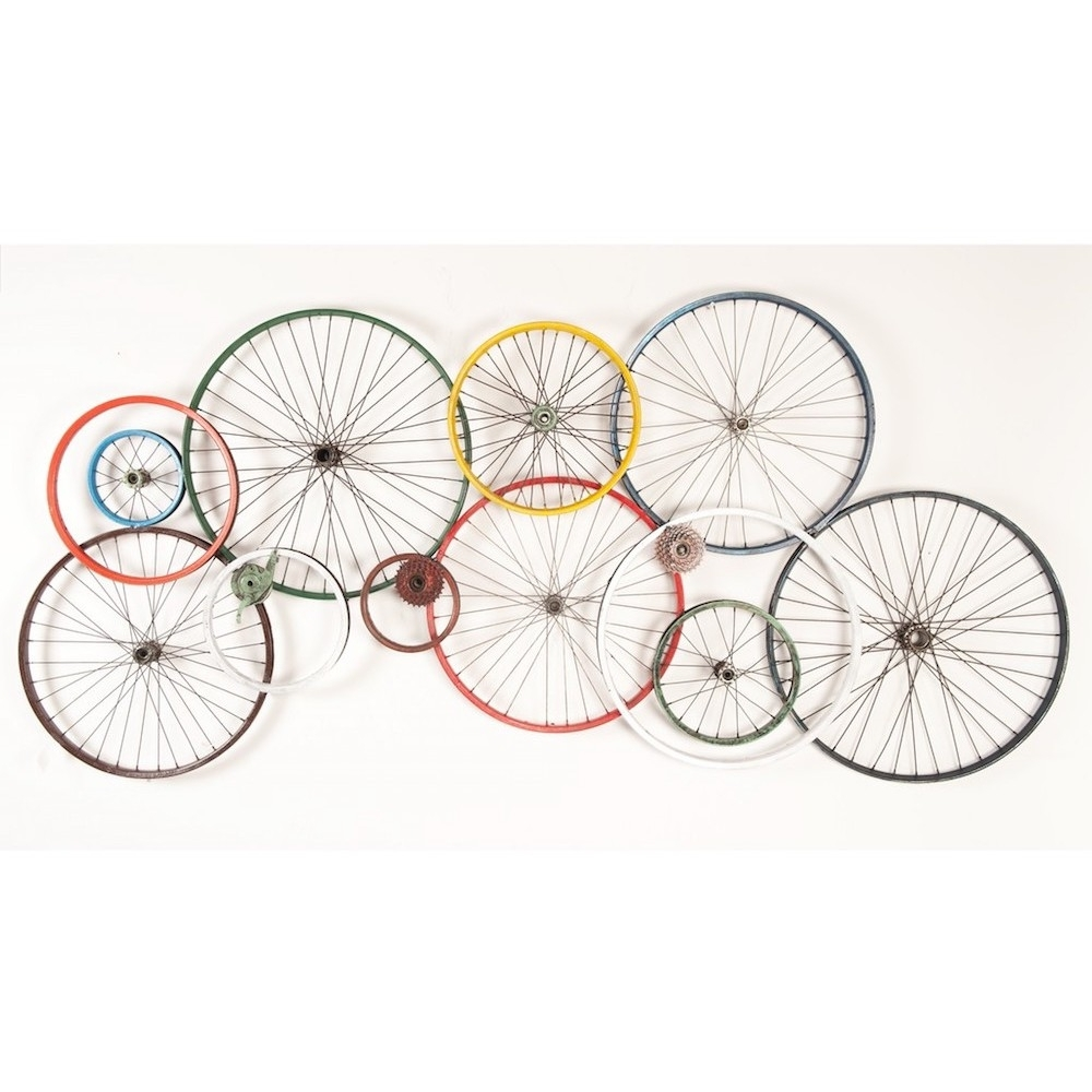Bicycle Wheel Wall Art – Best Seller Bicycle Review Inside Well Known Bike Wall Art (View 5 of 15)