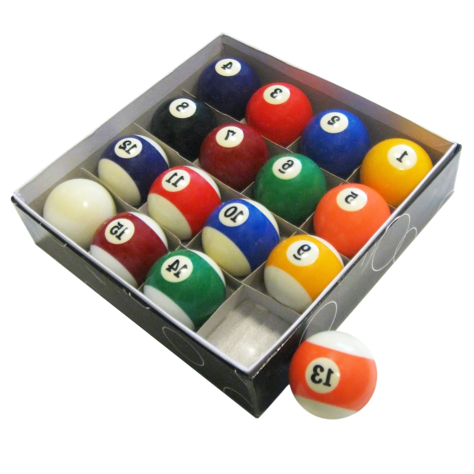 Billiard Wall Art Intended For Current Hathaway Games Pool Table Regulation Billiard Ball Set & Reviews (View 3 of 15)