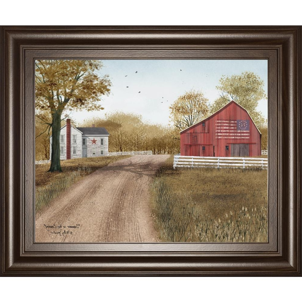 Billy Jacobs Framed Wall Art Prints For Most Popular Classy Art 22 In. X 26 In (View 3 of 15)