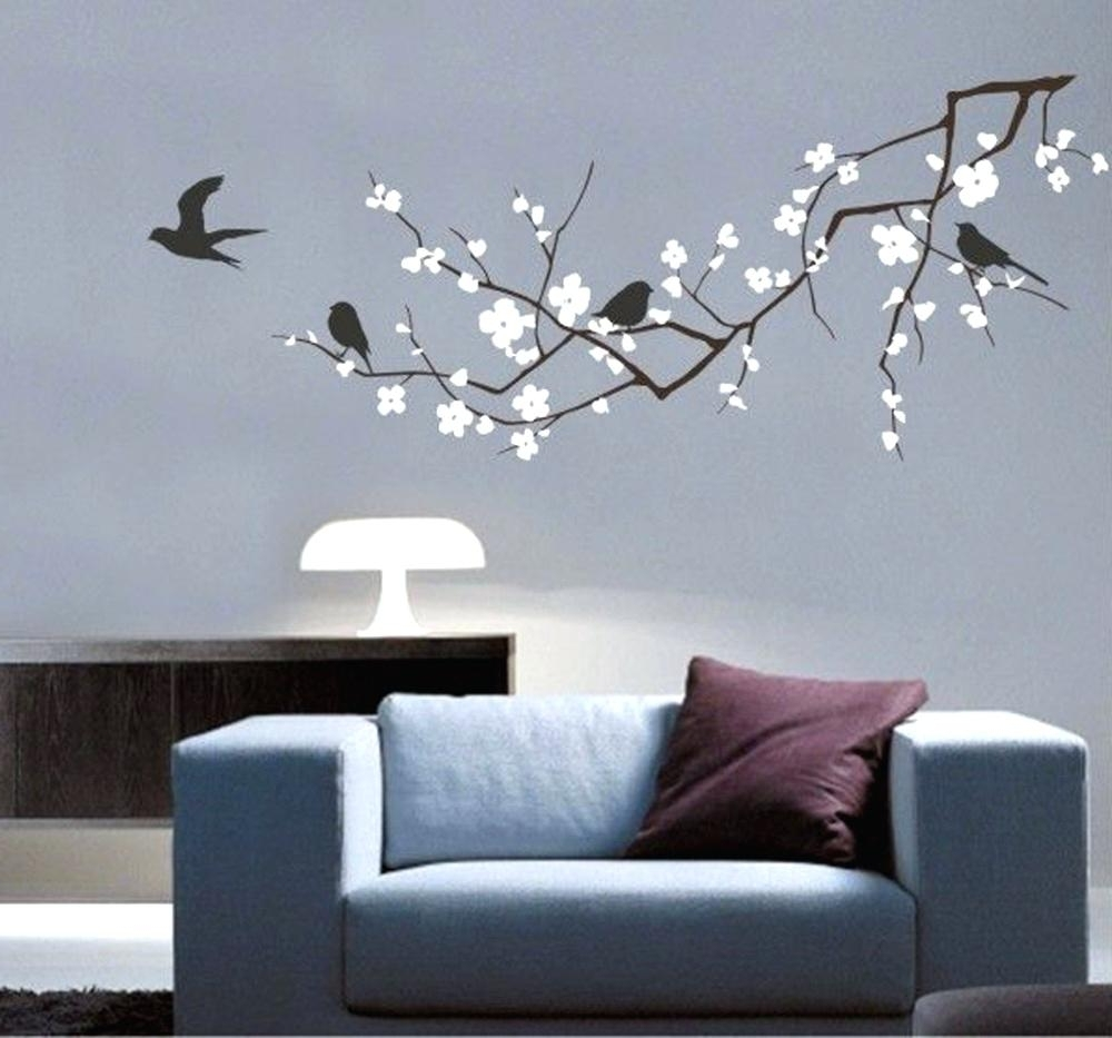 Bird Vinyl Wall Decals – Gutesleben For Fashionable Vinyl Wall Art Tree (View 4 of 15)